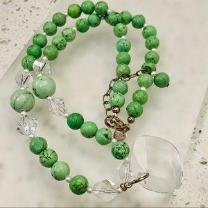EMILY RAY 925 Swarovski Crystals Stone Necklace